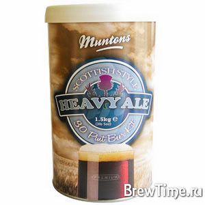Набор Muntons Scottish Heavy Ale 1,5 кг.
